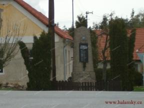 Pomník padlých v 1. světové válce<br>