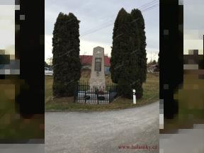 Pomník padlýchv 1. světové válce<br>