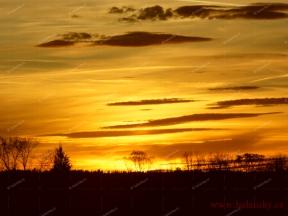 Západ slunce<br>