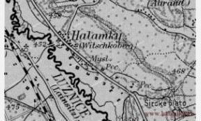 Mapa 1912<br>